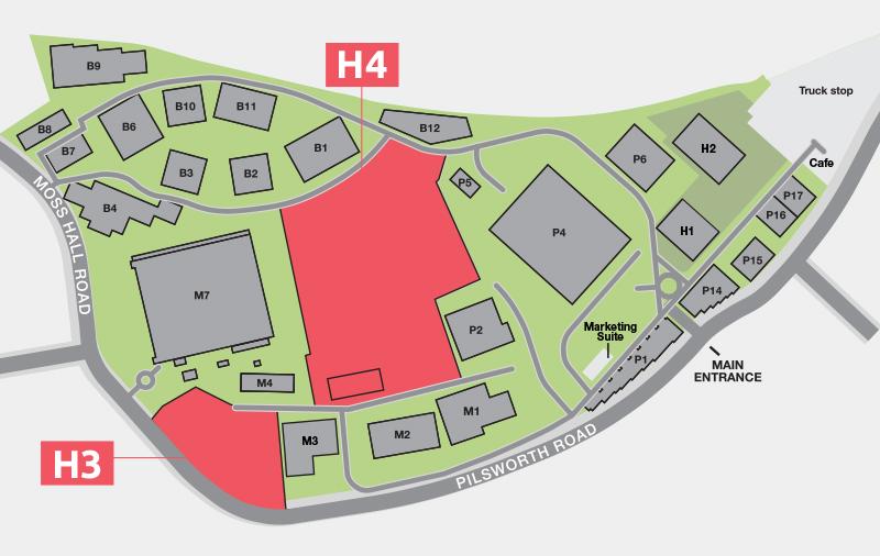 Unit H3 <br>& H4 Plan