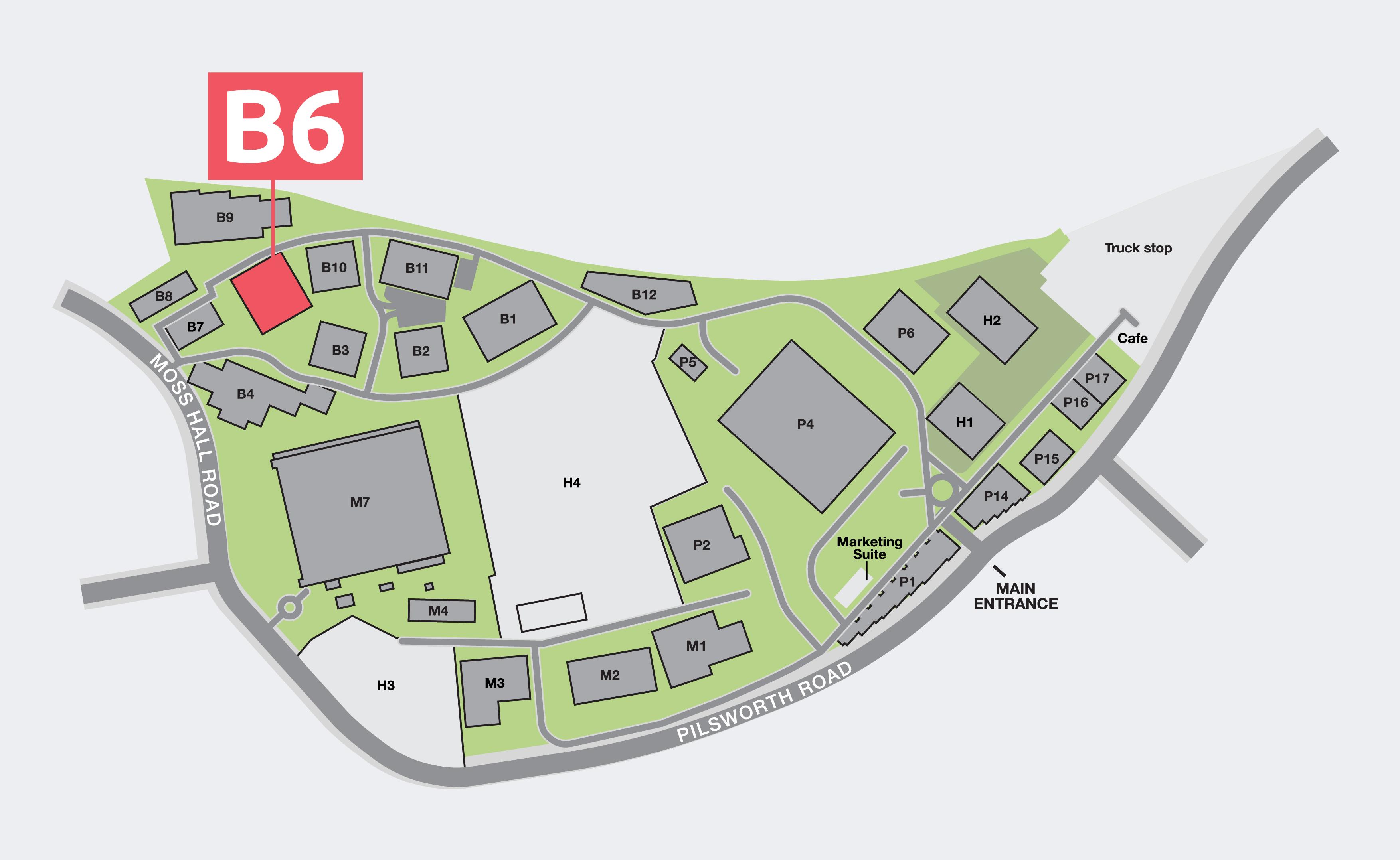 Unit B6 Plan